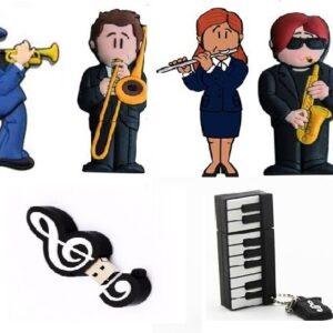 PEN USB MUSICALES