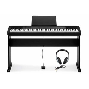 CASIO PIANO DIGITAL CDP-130 BK KIT+ AURICULARES
