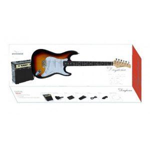 Pack Guitarra Eléctrica Daytona Stratocaster