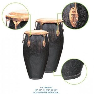 "CONGAS ""STRONG"" 11 3/4""+12 1/2"" DIAMOND"