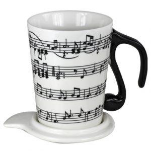 TAZAS MUSICALES CON TAPA