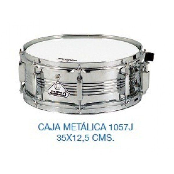 "Caja de Batería Metálica 14""x5"""