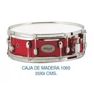 "CAJA DE BATERIA MADERA DE ARCE 14""X9cm"