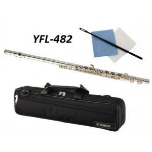 FLAUTA YAMAHA YFL-482ID PLATA