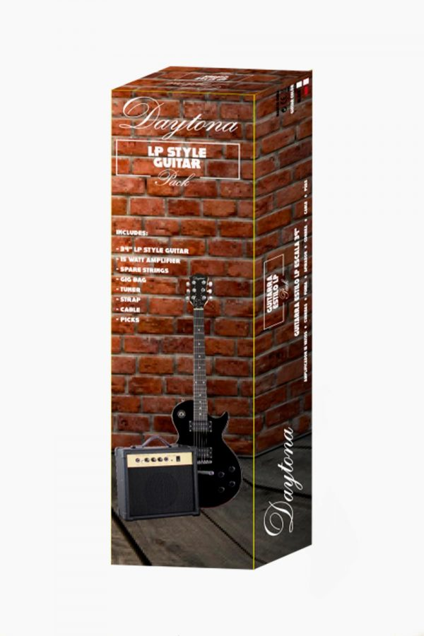 Pack Guitarra Eléctrica Daytona Tipo LES PAUL