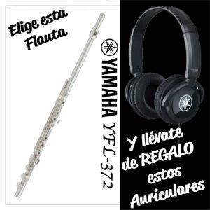 Flauta Travesera Yamaha YFL 372