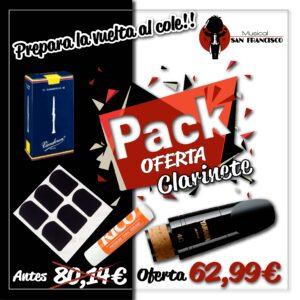 Pack Oferta Clarinete