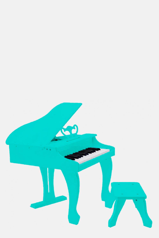 Piano de cola infantil azul niños