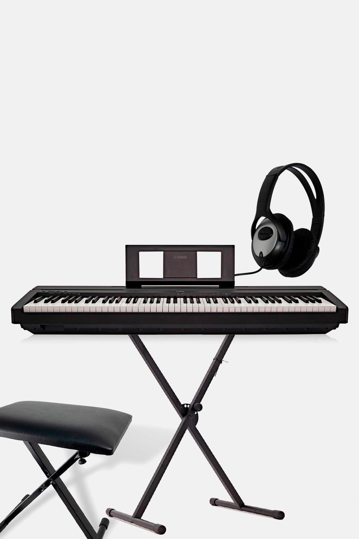 Pack piano yamaha p45b negro