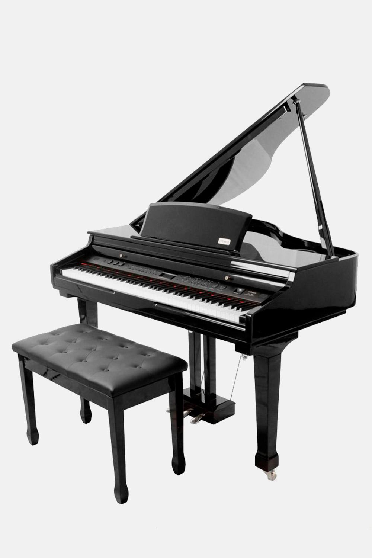 Piano de cola digital negro artesia ag50 barato