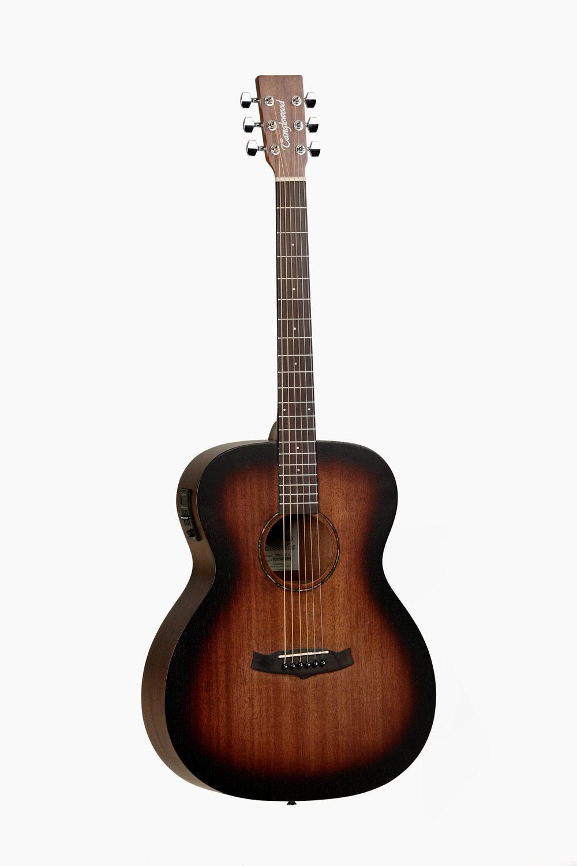 Guitarra Acústica amplificada marrón sombreado tanglewood