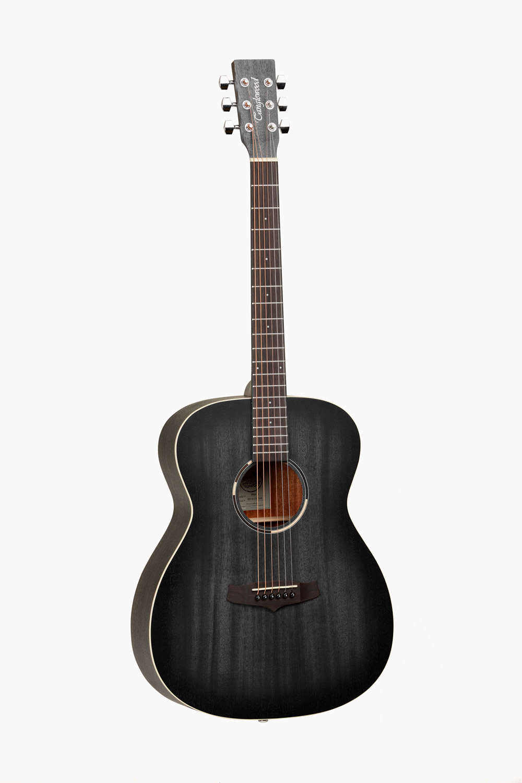 Guitarra acústica tanglewood negro satinado