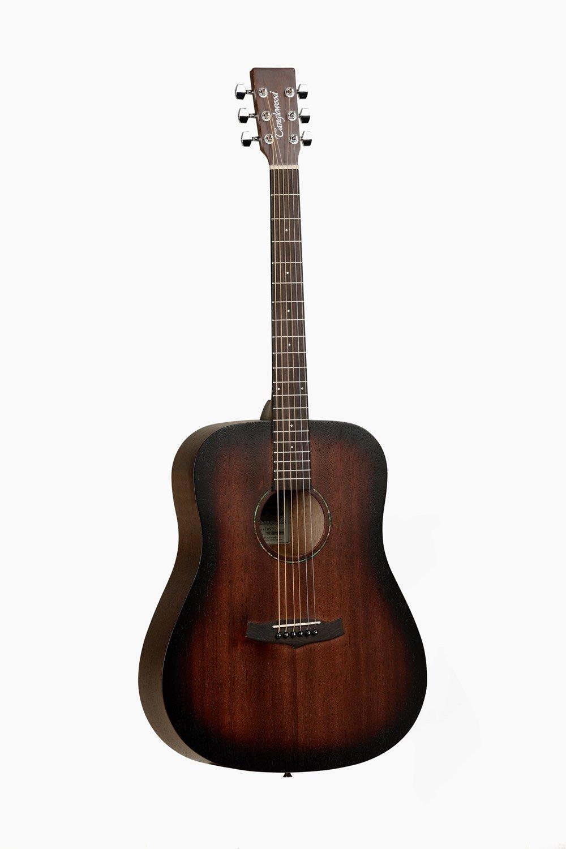 Guitarra Acustica Marron Sombreado Tanglewood Crossroad