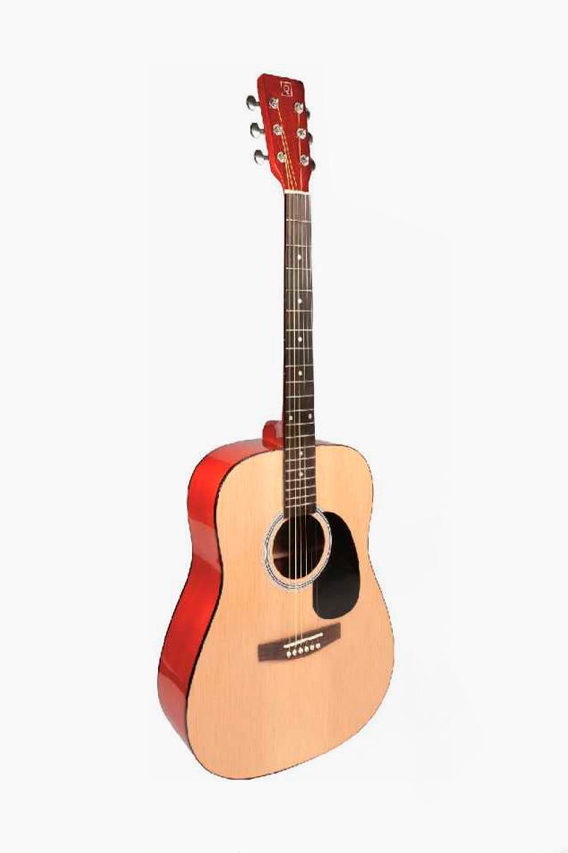 Guitarra Acústica Oqan Natural con funda