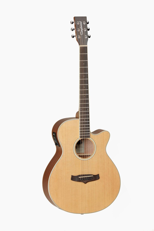 Guitarra acustica amplificada cutaway superfolk