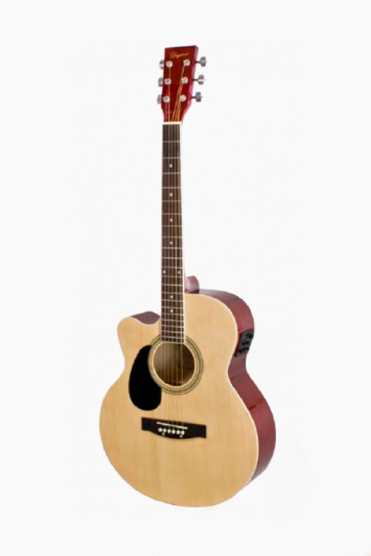 Guitarra acustica amplificada zurdos