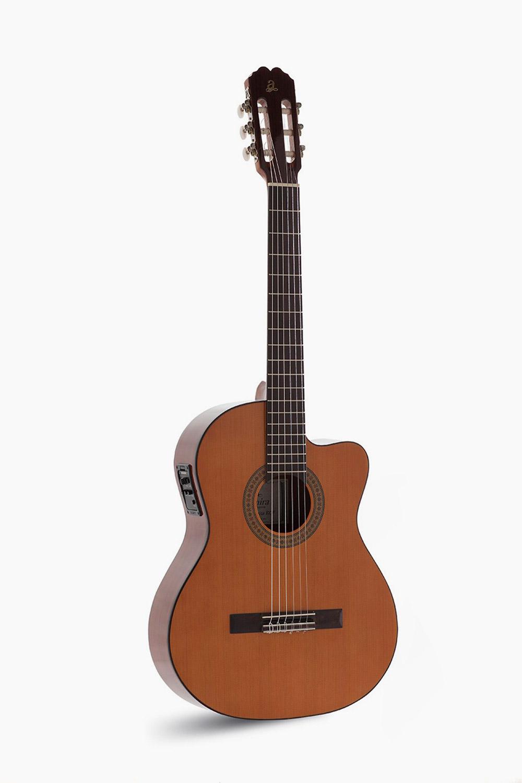 Guitarra Española Amplificada Cutaway Admira Juanita Estudio