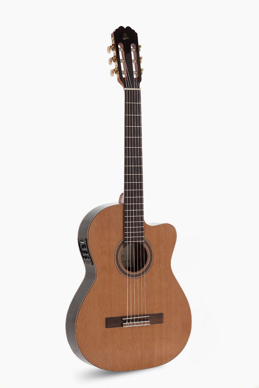 Guitarra Amplificada Cutaway Cuerpo Estrecho Admira Virtuoso