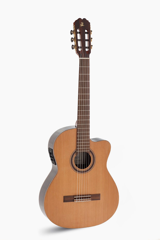 Guitarra Española Amplificada Cutaway Fishman Virtuoso