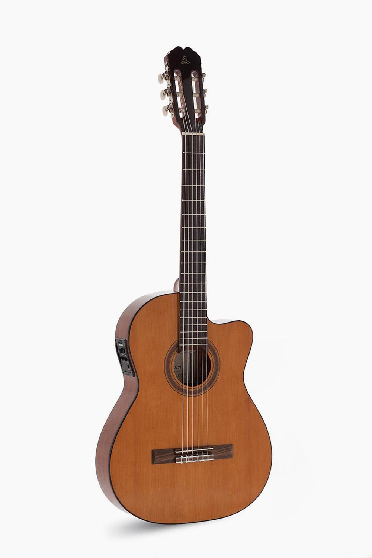 Guitarra Amplificada Cutaway Cuerpo Estrecho Admira Malaga