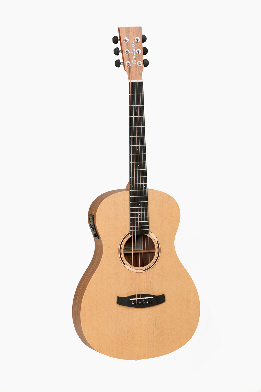Guitarra acústica amplificada parlour tanglewood