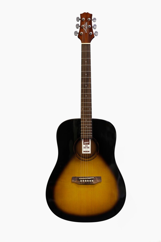 Guitarra acustica sunburst asthon