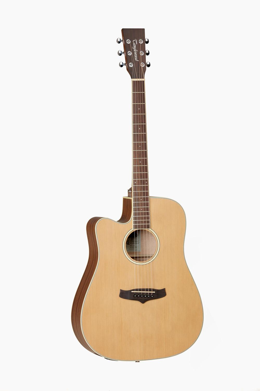 Guitarra acustica amplificada zurdos cutaway