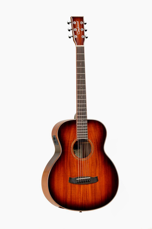 Guitarra acustica amplificada cutaway tanglewood