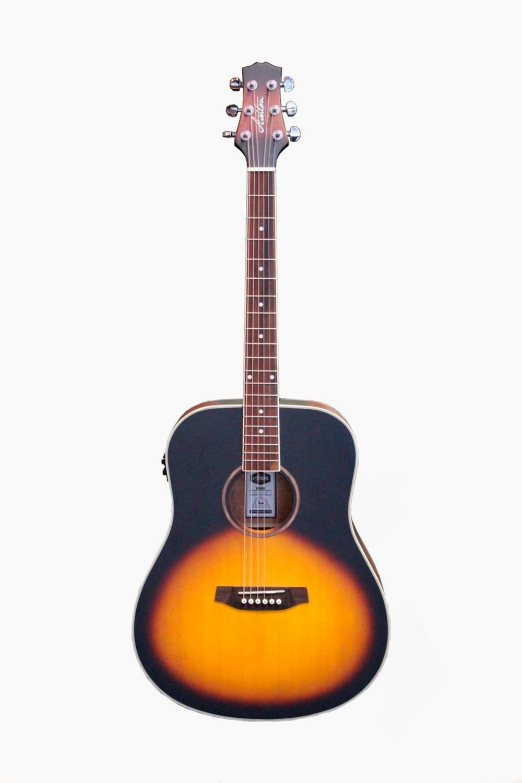 Guitarra electroacustica sunburst Asthon