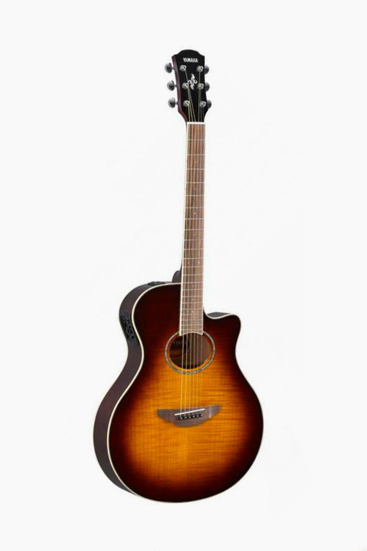 Guitarra electroacustica yamaha tobacco sunburst apx 600