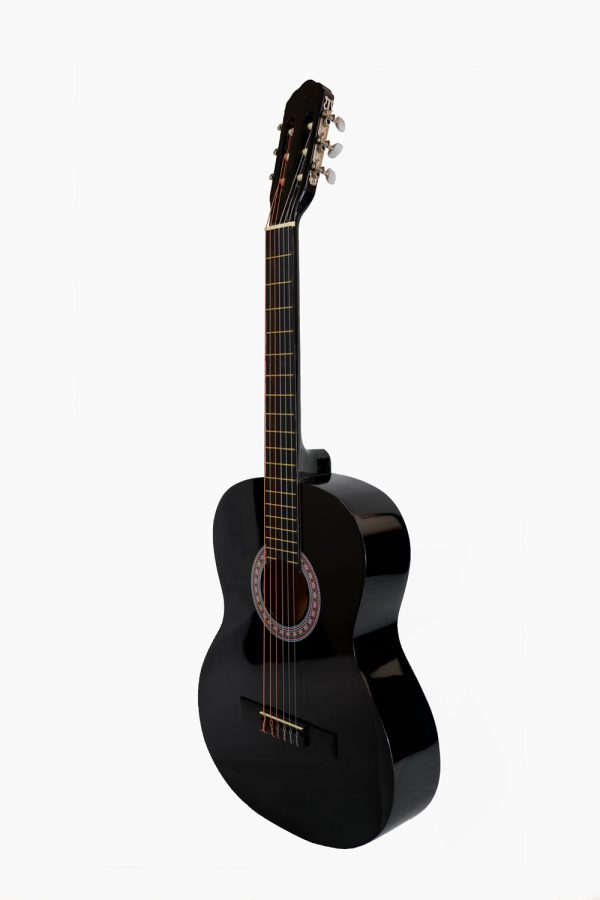 Guitarra Española Negra