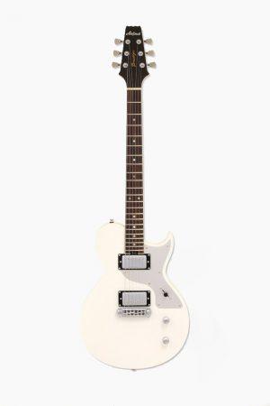 Guitarra electrica Blanca aria brooklin