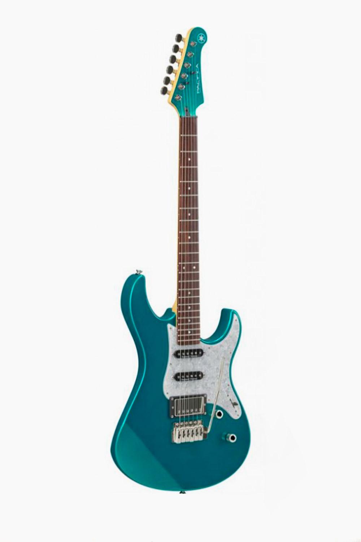 Guitarra electrica yamaha pacifica 612VII Verde