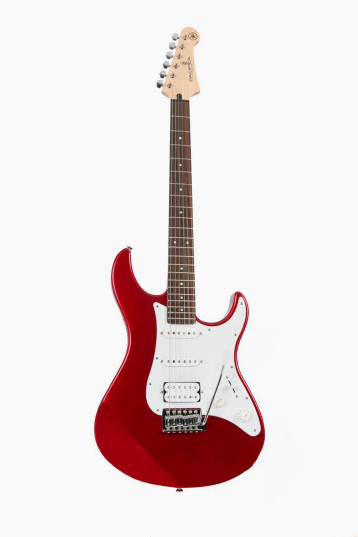 Guitarra eléctrica yamaha pacífica rojo metálico 012vm