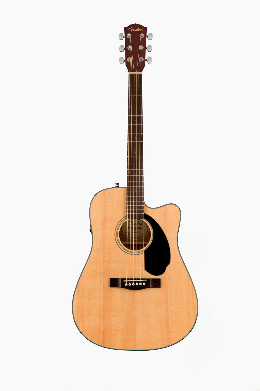 Guitarra electroacústica fender natural CD60SCE