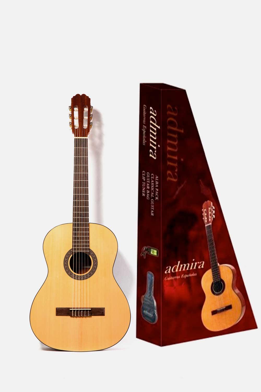 Pack guitarra admira alba niño