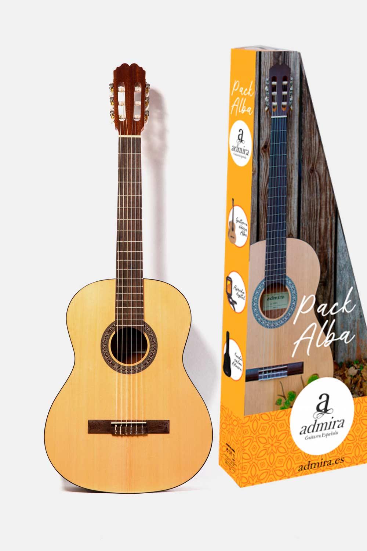 Pack guitarra admira alba