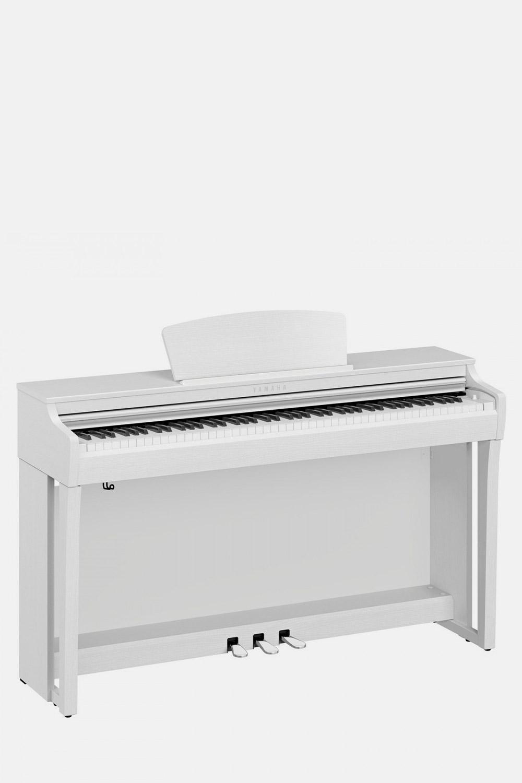 Piano yamaha clavinova clp725wh blanco