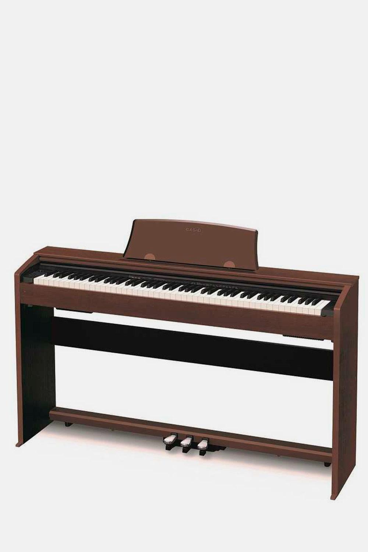 Piano digital casio privia px700 bn marron