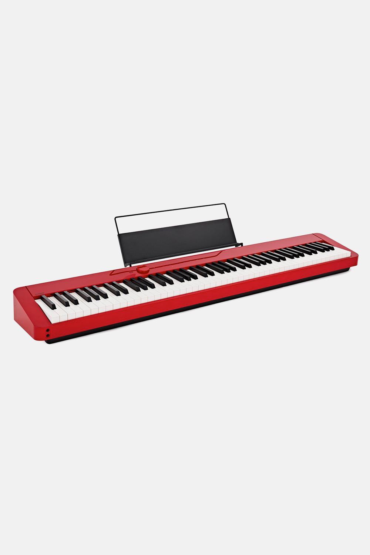 Piano rojo casio privia px s1000Rd rojo