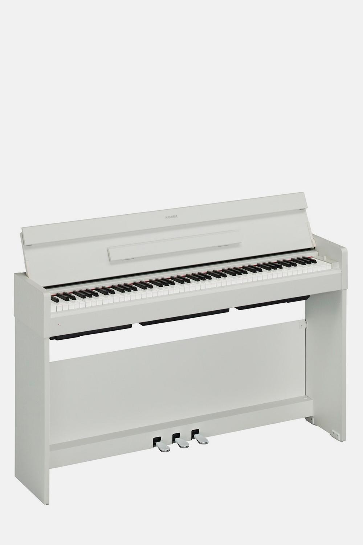 Piano yamaha arius ydp s34wh blanco