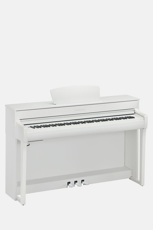 Piano yamaha clavinova clp735WH blanco