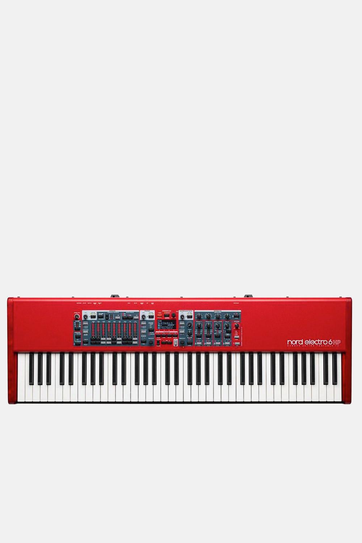 Teclado Nord Electro 6D Hp rojo workstation