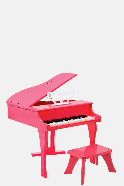 Piano de cola infantil rosa niño