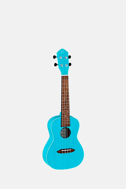 Ukelele concierto ortega azul rulagoon