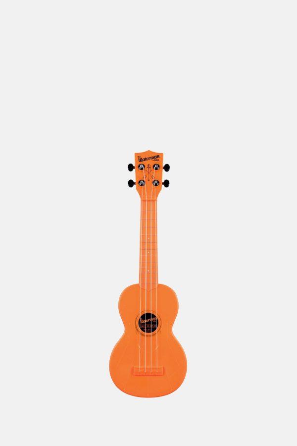 Ukelele soprano naranja transparente