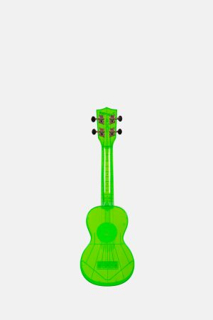 Ukelele Soprano Transparente Waterman KASWFGN Verde