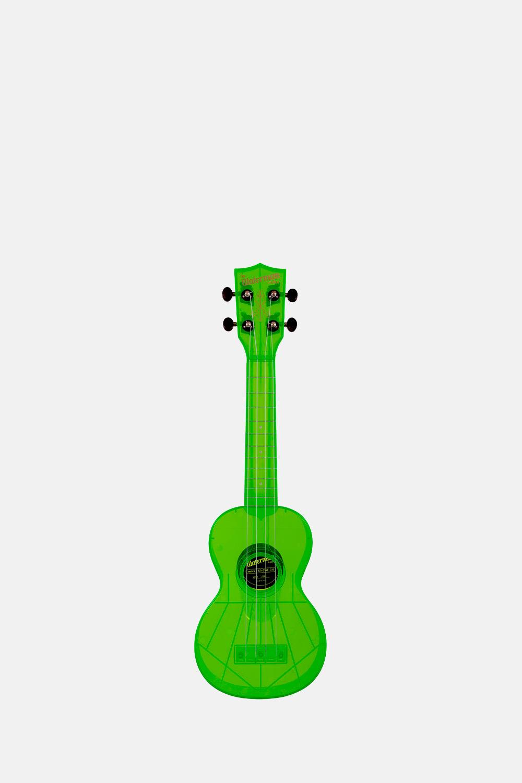Ukelele verde transparente soprano waterman
