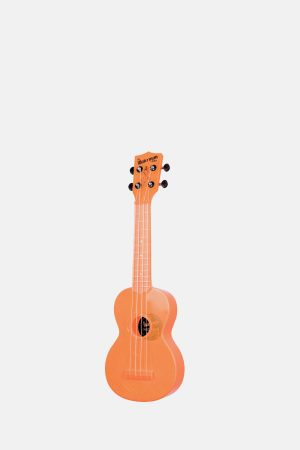 Ukelele Soprano Transparente Waterman KASWFNA Naranja