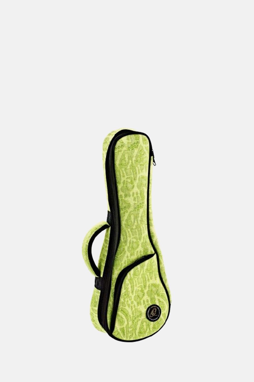 Funda ukelele soprano ortega verde